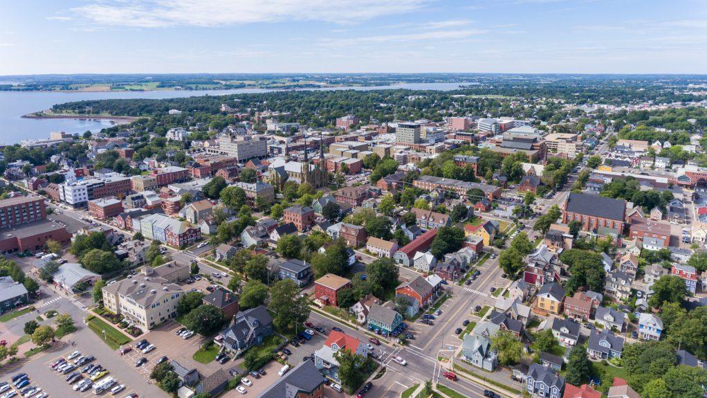 Charlottetown Waterfront Drone - Property of Odyssey Virtual