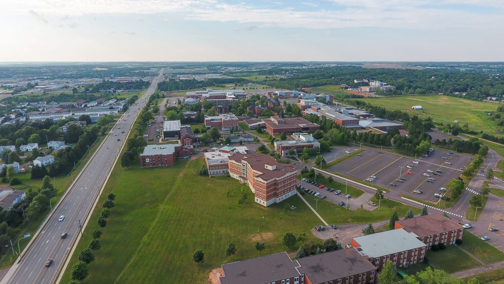 Odyssey Virtual PEI featuring the University of Prince Edward Island - UPEI Campus drone picture