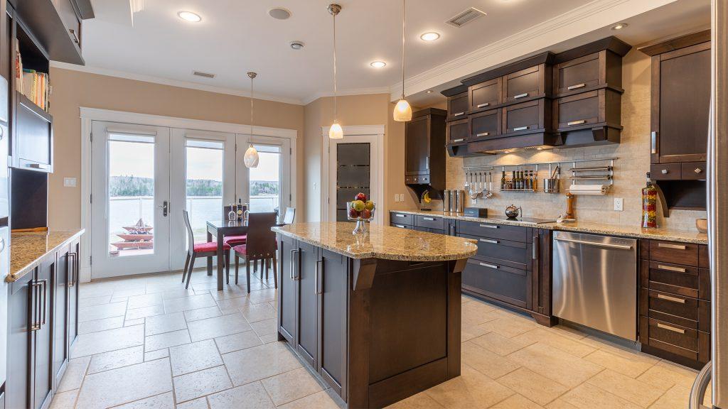Luxury PEI Waterfront Kitchen | PEI Real Estate and Realtors