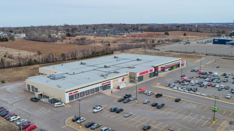 Canadian Tire Charlottetown Featuring Odyssey Virtual Drone Image